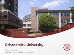 Ochanomizu University powerpoint template download | 御茶水女子大学PPT模板下载