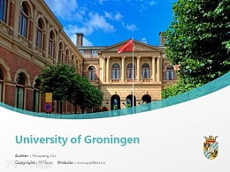 University of Groningen powerpoint template download | 格羅寧根大學PPT模板下載