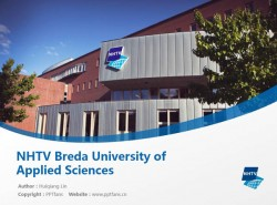 NHTV Breda University of Applied Sciences powerpoint template download | 旅游物流应用科学大学PPT模板下载