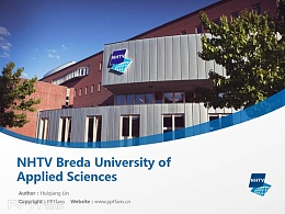 NHTV Breda University of Applied Sciences powerpoint template download | 旅游物流應用科學大學PPT模板下載