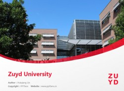 Zuyd University powerpoint template download | 南方应用科学大学PPT模板下载