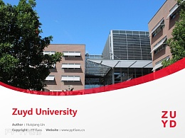 Zuyd University powerpoint template download | 南方應用科學大學PPT模板下載