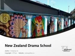 Te Kura Toi Whakaari O Aotearoa: New Zealand Drama School powerpoint template download | 新西兰戏剧学院PPT模板下载