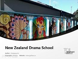 Te Kura Toi Whakaari O Aotearoa: New Zealand Drama School powerpoint template download | 新西蘭戲劇學院PPT模板下載