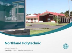 Northland Polytechnic powerpoint template download | 诺斯兰德理工学院PPT模板下载