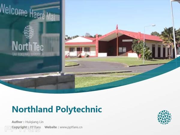 Northland Polytechnic powerpoint template download | 诺斯兰德理工学院PPT模板下载_幻灯片预览图1