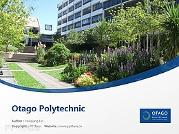 Otago Polytechnic powerpoint template download | 奧塔哥理工學院PPT模板下載