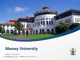 Massey University powerpoint template download | 梅西大学PPT模板下载