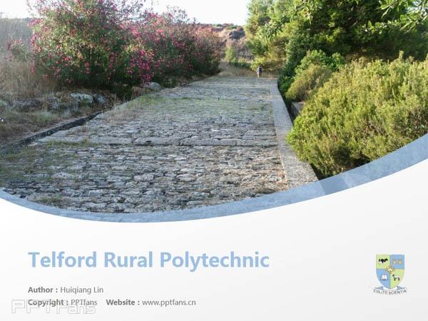 Telford Rural Polytechnic powerpoint template download | 林肯大学泰尔福特分校PPT模板下载_幻灯片预览图1