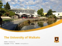 The University of Waikato powerpoint template download | 怀卡托大学PPT模板下载