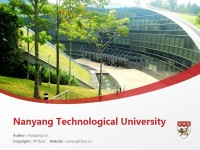 Nanyang Technological University powerpoint template download | 南洋理工大学PPT模板下载