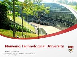 Nanyang Technological University powerpoint template download | 南洋理工大学PPT模板下载