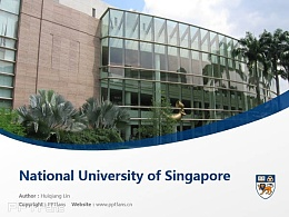National University of Singapore powerpoint template download | ?#24405;?#22369;国立大学PPT模板下载