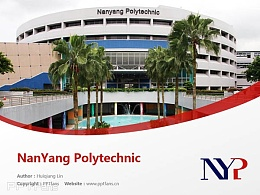 NanYang Polytechnic powerpoint template download | 南洋理工學院PPT模板下載