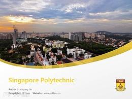 Singapore Polytechnic powerpoint template download | 新加坡理工学院PPT模板下载