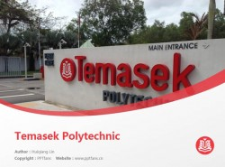 Temasek Polytechnic powerpoint template download | 淡马锡理工学院PPT模板下载