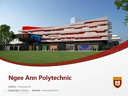 Ngee An Polytechnic powerpoint template download | 义安理工学院PPT模板下载