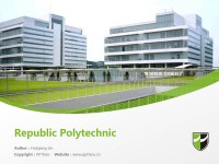 Republic Polytechnic powerpoint template download | 共和理工学院PPT模板下载