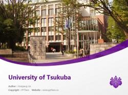 University of Tsukuba powerpoint template download | 筑波大学PPT模板下载