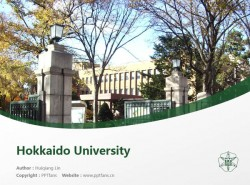 Hokkaido University powerpoint template download | 北海道大学PPT模板下载