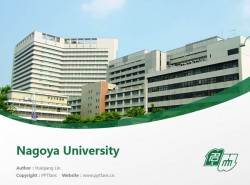 Nagoya University powerpoint template download | 名古屋大学PPT模板下载