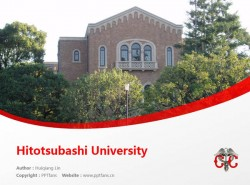 Hitotsubashi University powerpoint template download | 一桥大学PPT模板下载