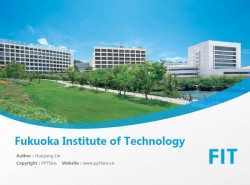 Fukuoka Institute of Technology powerpoint template download | 福冈工业大学PPT模板下载