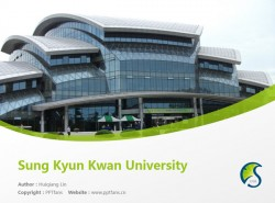 Sung Kyun Kwan University powerpoint template download | 成均馆大学PPT模板下载