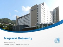 Nagasaki University powerpoint template download | 长崎大学PPT模板下载