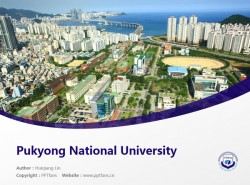 Pukyong National University powerpoint template download | 釜庆大学PPT模板下载