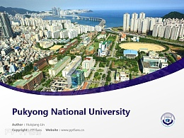 Pukyong National University powerpoint template download | 釜慶大學PPT模板下載