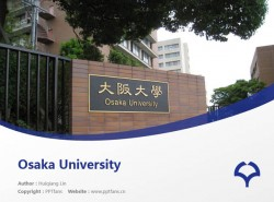Osaka University powerpoint template download | 大阪大学PPT模板下载