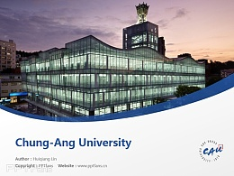 Chung-Ang University powerpoint template download | 中央大學PPT模板下載