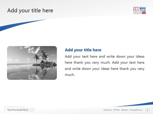 Institute of Technology, Tallaght powerpoint template download | 塔拉理工学院PPT模板下载_slide3