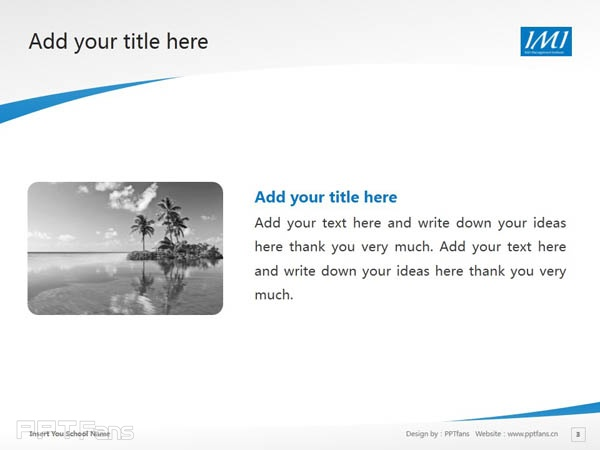 Irish Management Institute powerpoint template download | 爱尔兰管理学院PPT模板下载_slide4