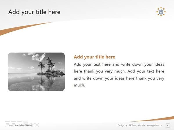Tilburg University powerpoint template download | 蒂尔堡大学PPT模板下载_slide3