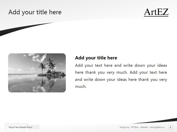 ArtEZ Institute of the Arts powerpoint template download | ArtEZ艺术学院PPT模板下载_幻灯片预览图4