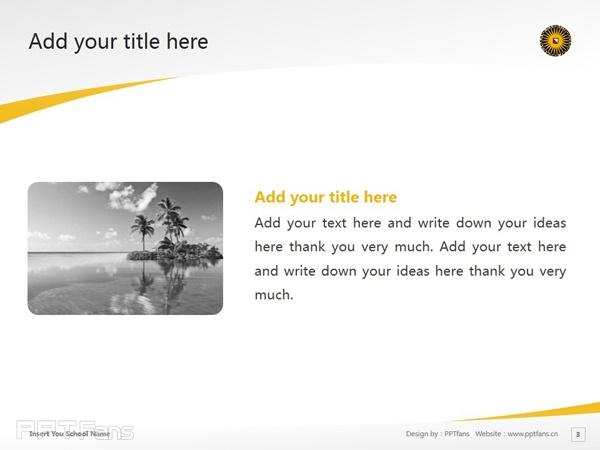 Utrecht University powerpoint template download | 乌得勒支大学PPT模板下载_幻灯片预览图4