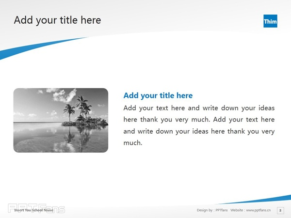International Academy of Physiotherapy powerpoint template download | 国际理疗学院PPT模板下载_幻灯片预览图4