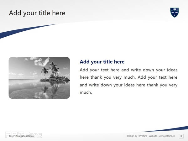 International Pacific College, New Zealand powerpoint template download | 新西兰国际太平洋大学PPT模板下载_幻灯片预览图4