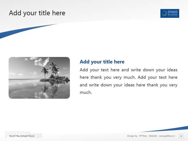 Otago Polytechnic powerpoint template download | 奥塔哥理工学院PPT模板下载_幻灯片预览图4