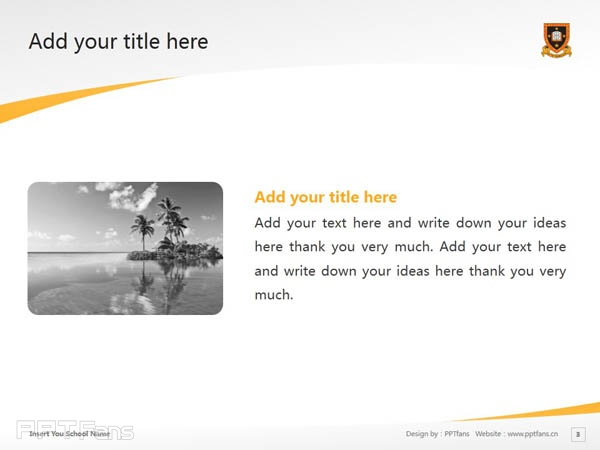 The University of Waikato powerpoint template download | 怀卡托大学PPT模板下载_幻灯片预览图4