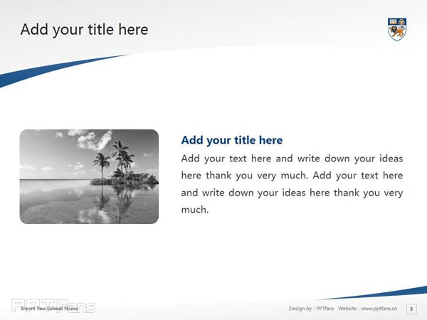 National University of Singapore powerpoint template download | 新加坡国立大学PPT模板下载_幻灯片预览图4