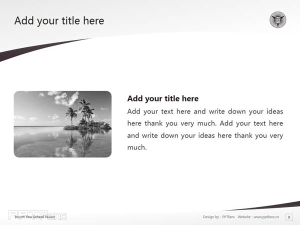 Nagoya Keizai University powerpoint template download | 名古屋经济大学PPT模板下载_slide3