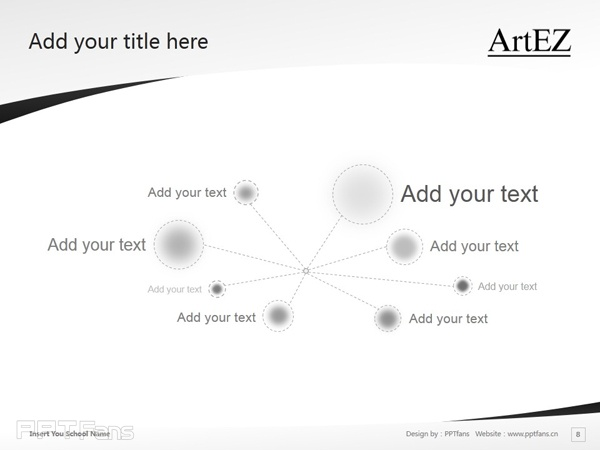 ArtEZ Institute of the Arts powerpoint template download | ArtEZ艺术学院PPT模板下载_幻灯片预览图9
