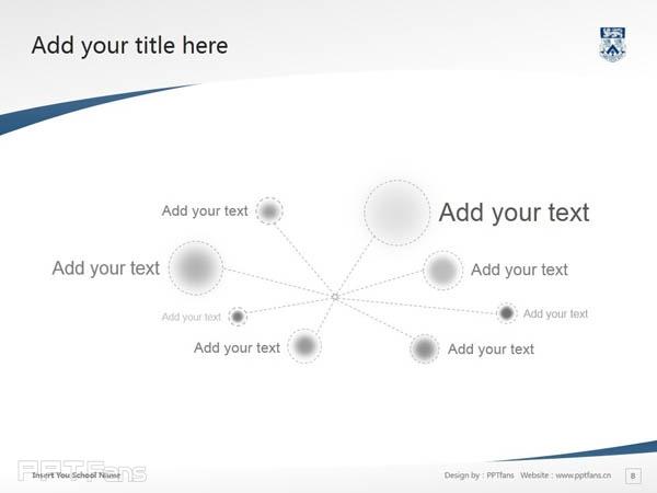 Whitecliff College of Arts and Design powerpoint template download | 怀特克利夫艺术设计学院PPT模板下载_幻灯片预览图9