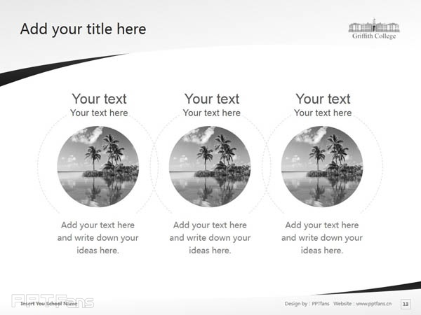 Griffith College Cork powerpoint template download | 科克格里菲斯学院PPT模板下载_slide14