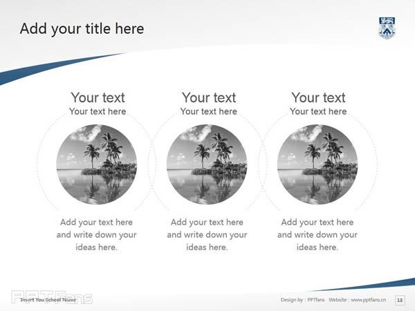 Whitecliff College of Arts and Design powerpoint template download | 怀特克利夫艺术设计学院PPT模板下载_幻灯片预览图14
