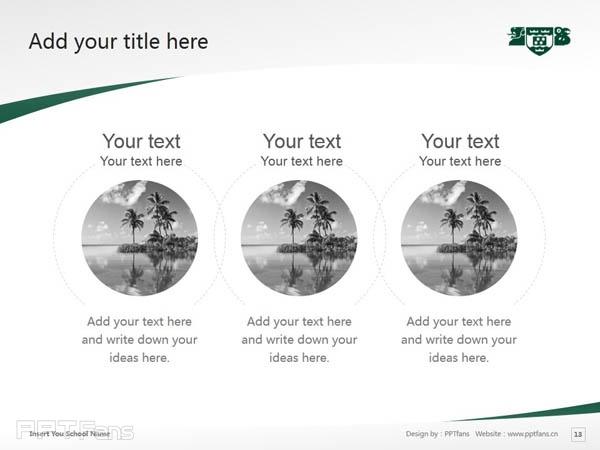 Wellington College of Education powerpoint template download | 惠灵顿维多利亚大学教育学院PPT模板下载_幻灯片预览图14