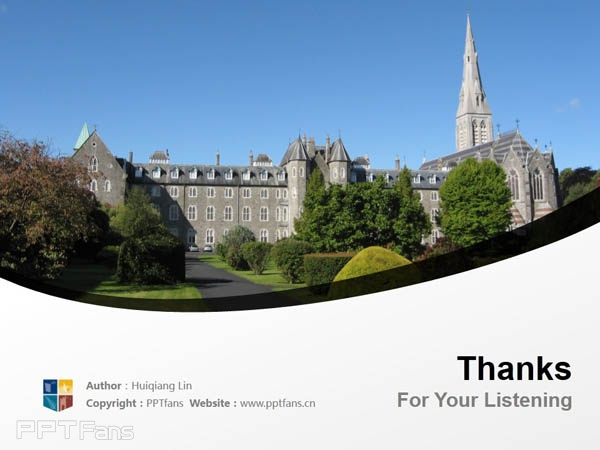 National University of Ireland Maynooth powerpoint template download | 爱尔兰国立梅努斯大学PPT模板下载_slide18